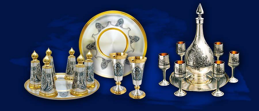 Серебряные украшения из Праги