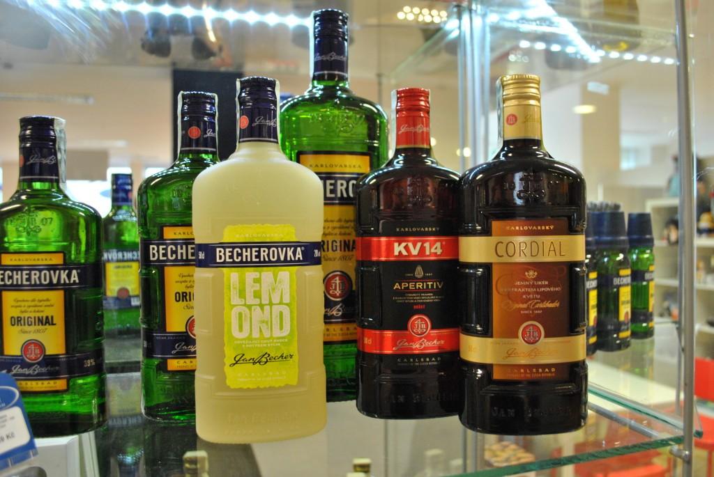 Алкогольные напитки из Чехии