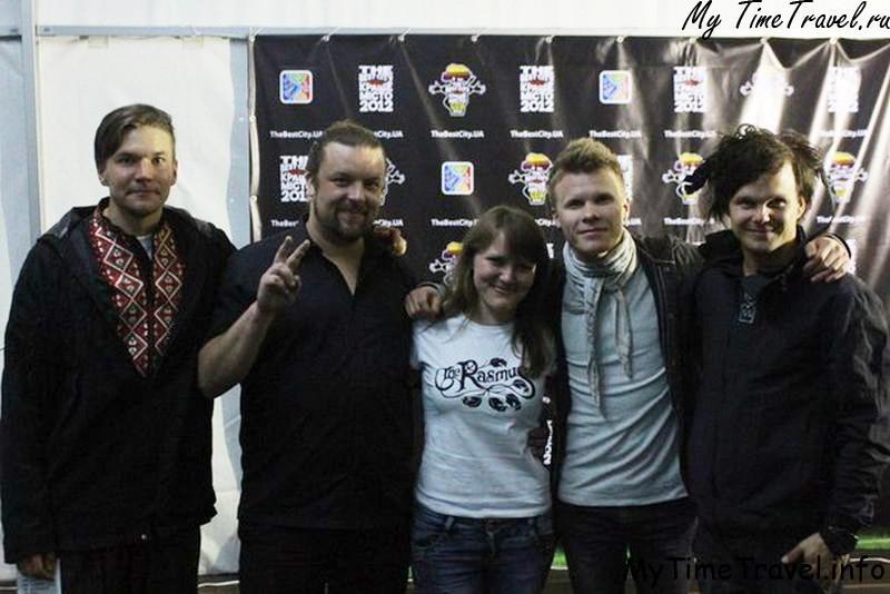 Фестиваль The Best City 2012 и встреча с The Rasmus