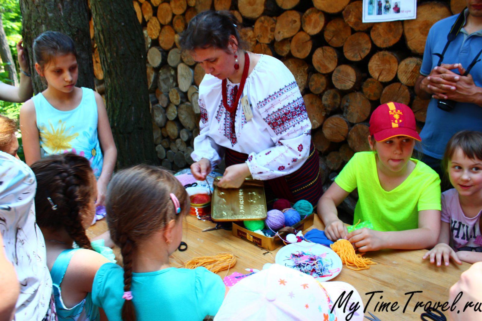Этно село под Киевом