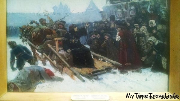 Эскиз к картине «Боярыня Морозова»