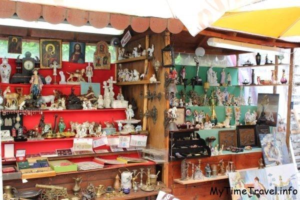 Антикварный рынок в Будве