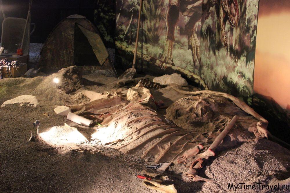 В Будве поселились динозавры