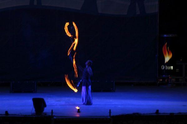 Фестиваль огня в Киеве 2013