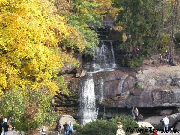 Водопад в Софиевском парке
