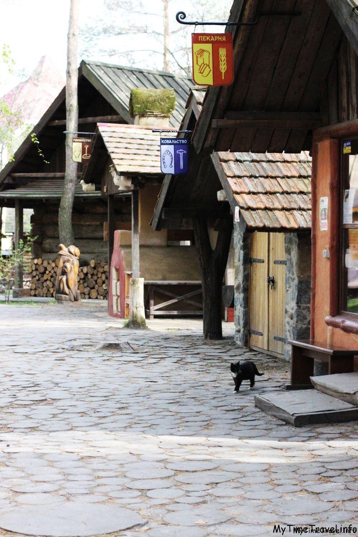 Улочка мастерских в Украинском селе