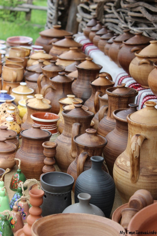 Глиняная посуда в Пирогово