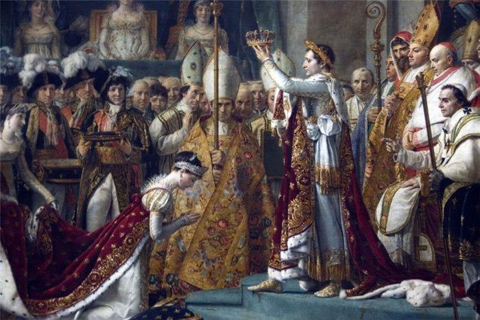 «Коронация Наполеона и Жозефины» Жак — Луи Давида.