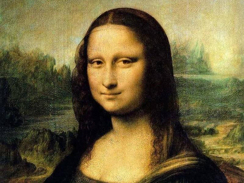 Монна Лиза в Лувре