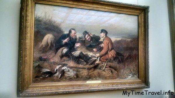 «Охотники на привале» В.Г. Перов