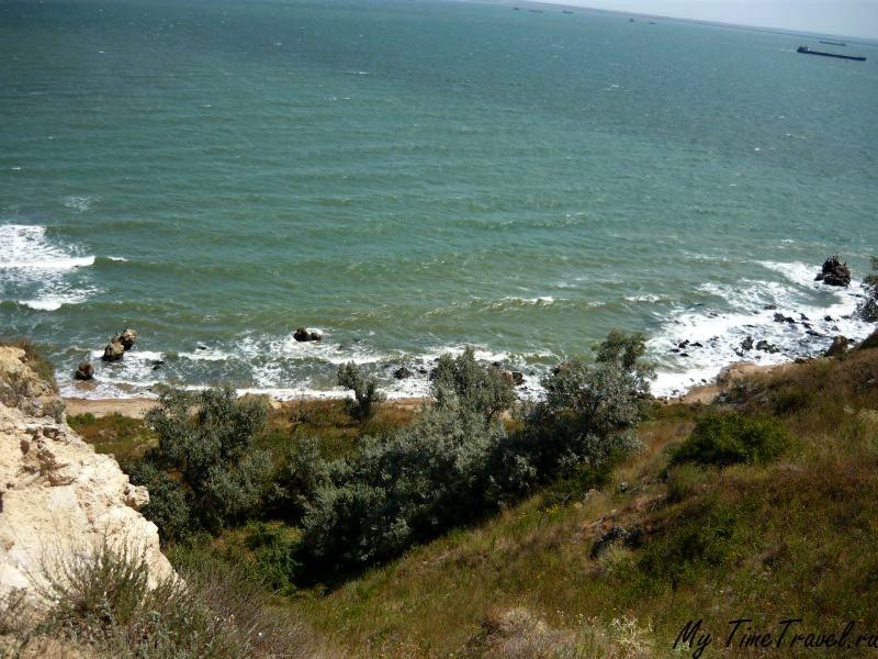 Дикий пляж Керчи