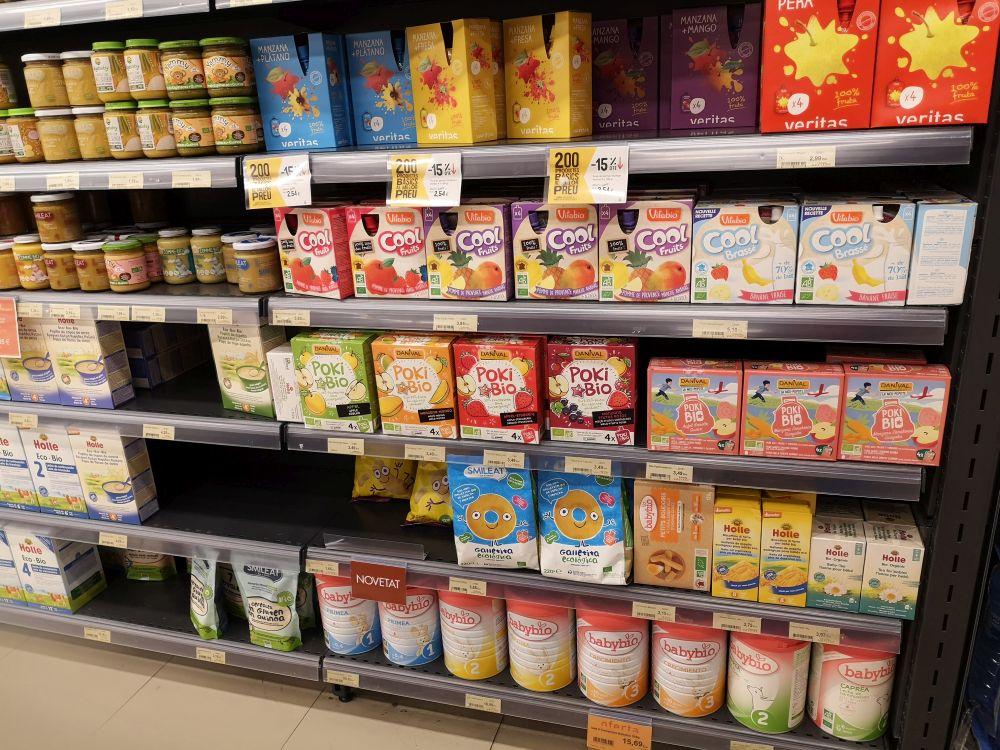 Питание для детей в Испании