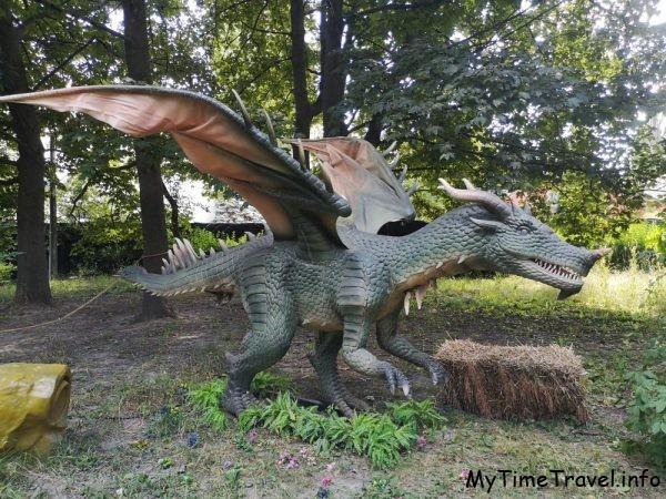 Выставка «Живые драконы и деревья» на ВДНХ, Киев
