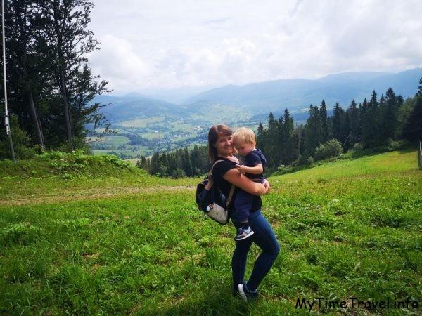 Фитнес-тур в Карпатах: очередная поездка с сыном