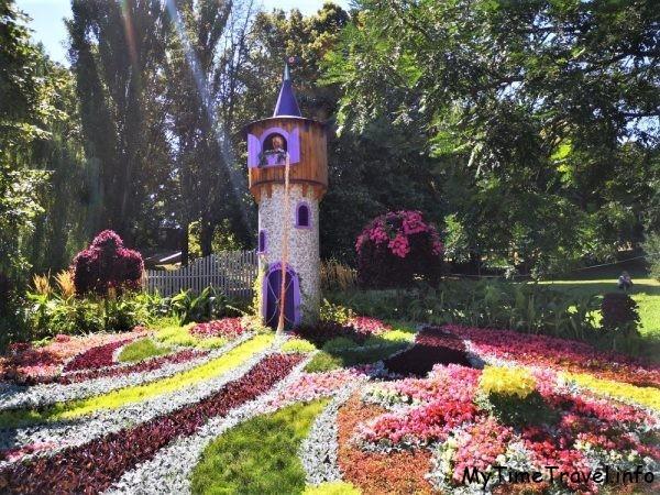 Выставка цветов на ПЕчерске