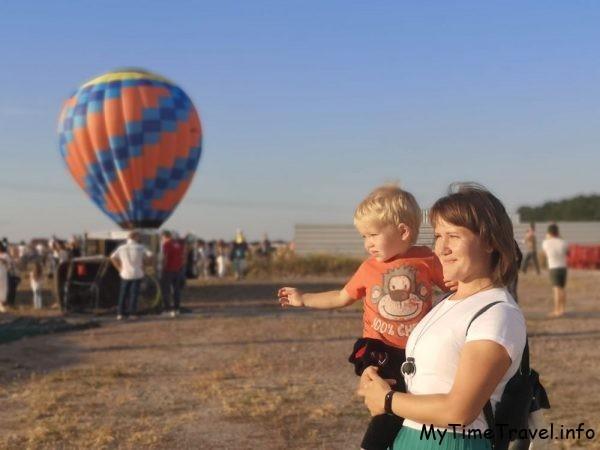 Фестиваль воздушных шаров в Киеве 2020