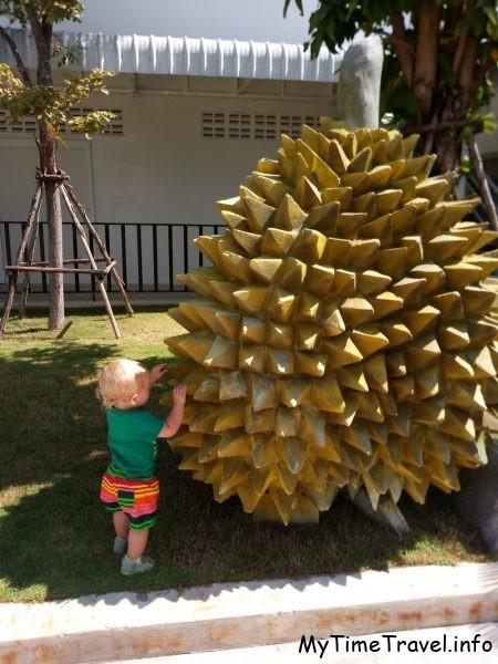 Скульптура дуриана