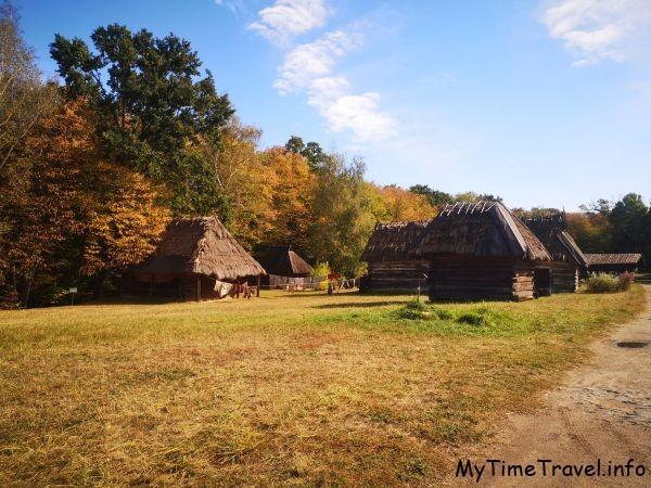 Старые украинские хаты