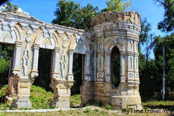 Замок в Немешаево