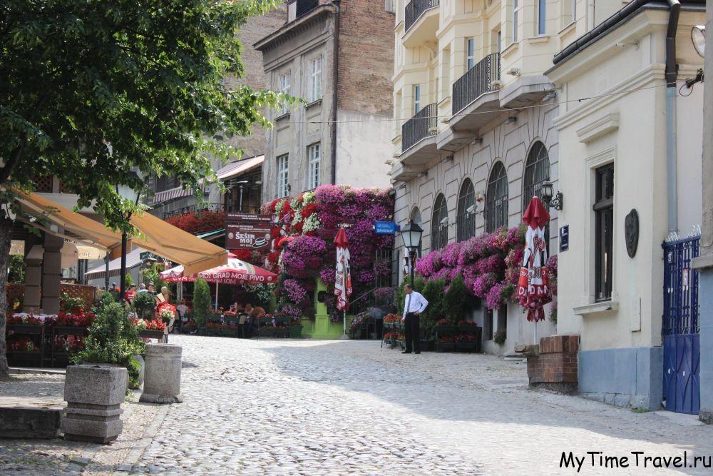 Скадарлия в Белграде