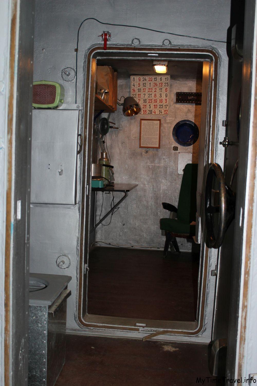 Так изнутри выглядит сурдобарокамера СКБ-48