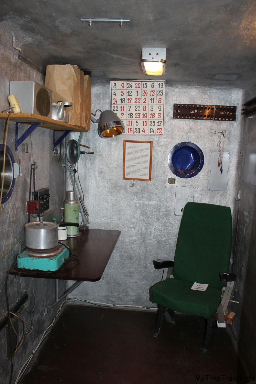 Кресло для космонавта в сурдобарокамера СКБ-48