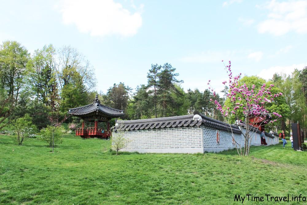 Корейский национальный сад