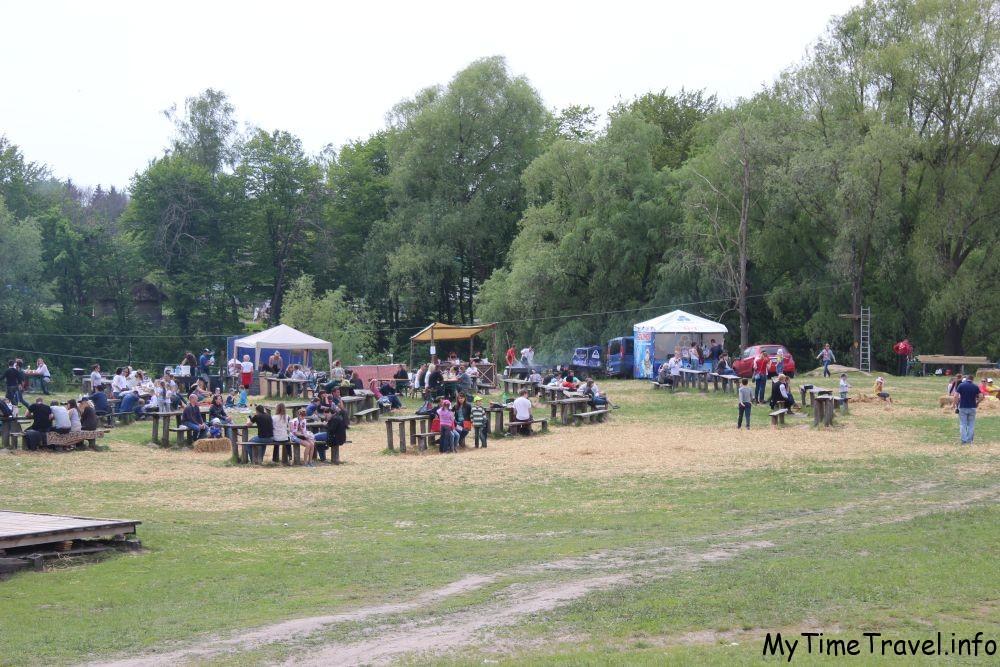 Ярмарка в Пирогово