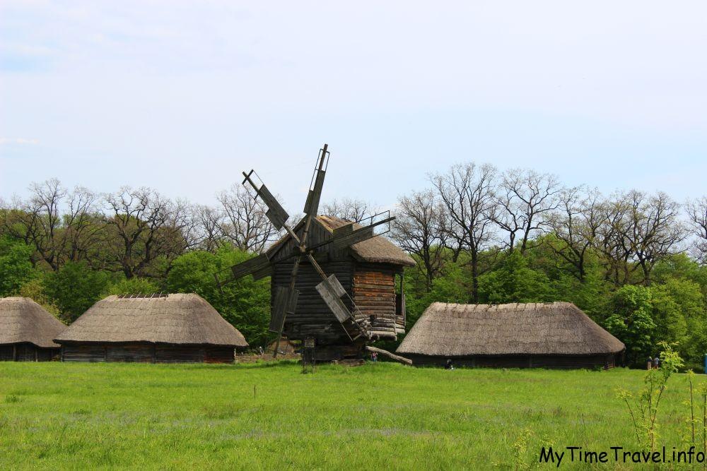 Мельницы в музее Киева