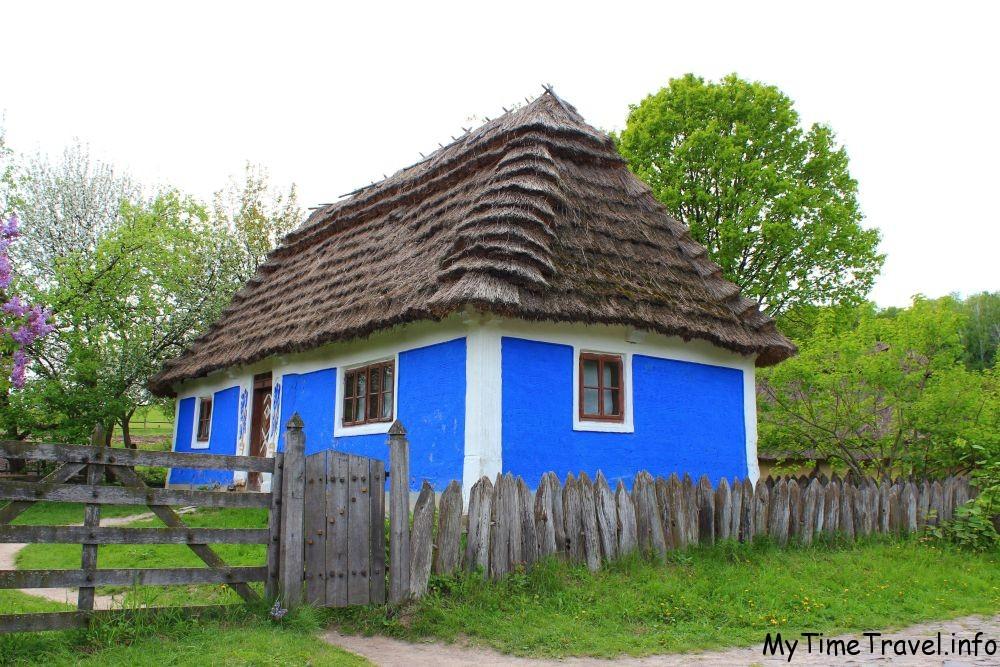 Украинские хаты Карпат