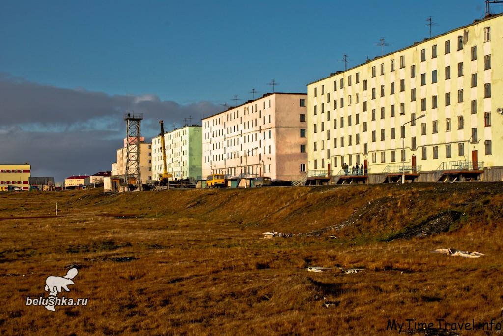 Улица Фомина поселок Белушья губа