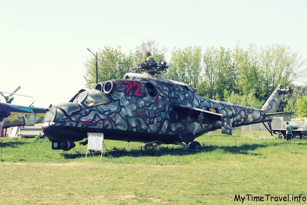 Расписаный вертолет