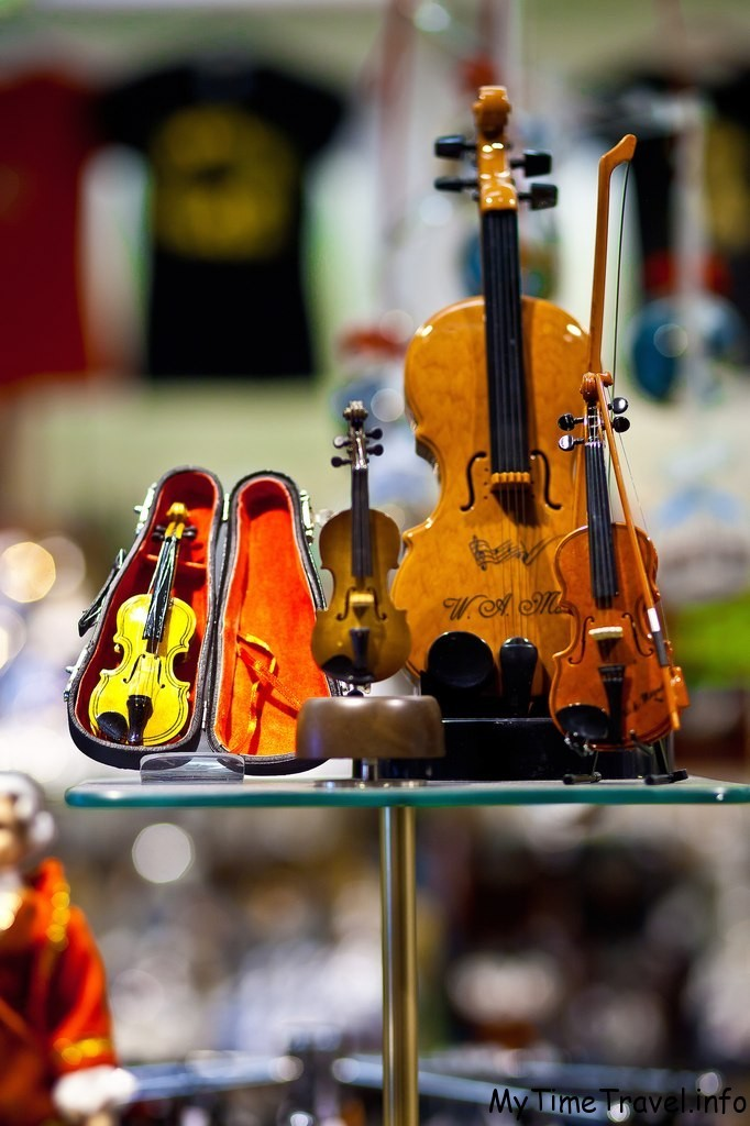 Сувенирная скрипка из Вены
