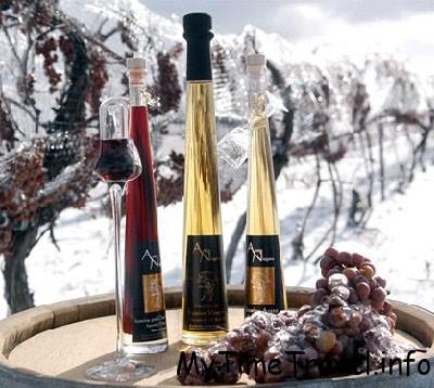 Десертное австрийское вино Eiswein