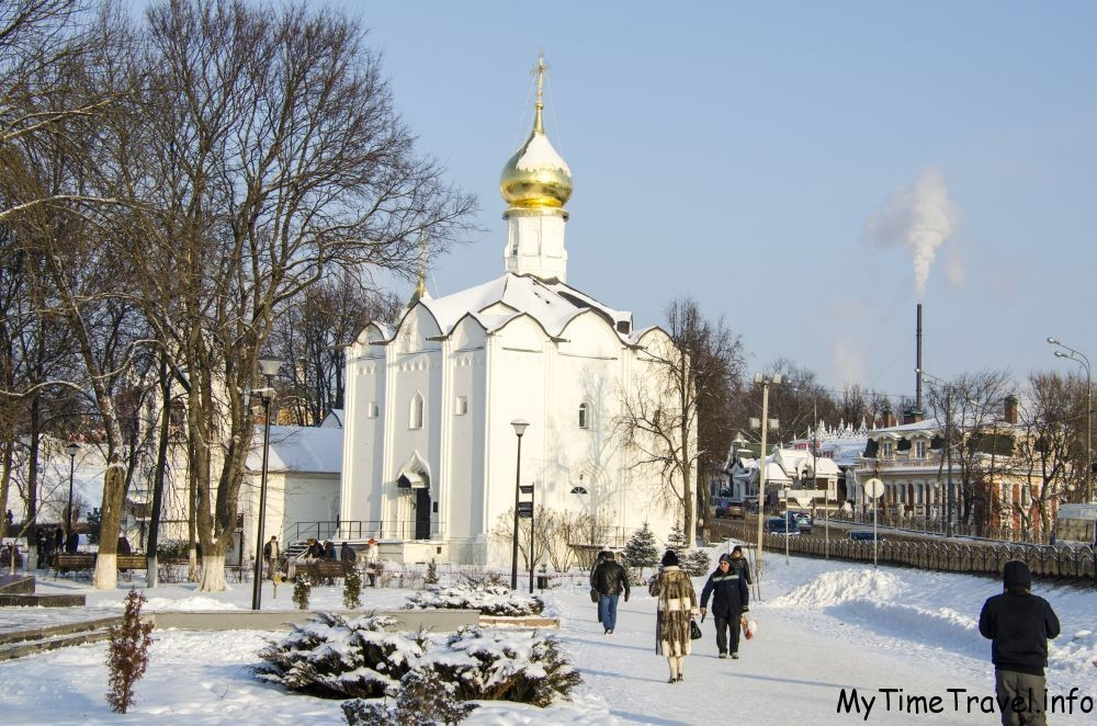 Церковь Введения во храм Пресвятой Богородицы на Подоле
