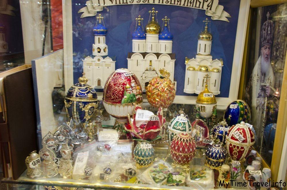 Сувениры из Троеце-Сергиевской лавны