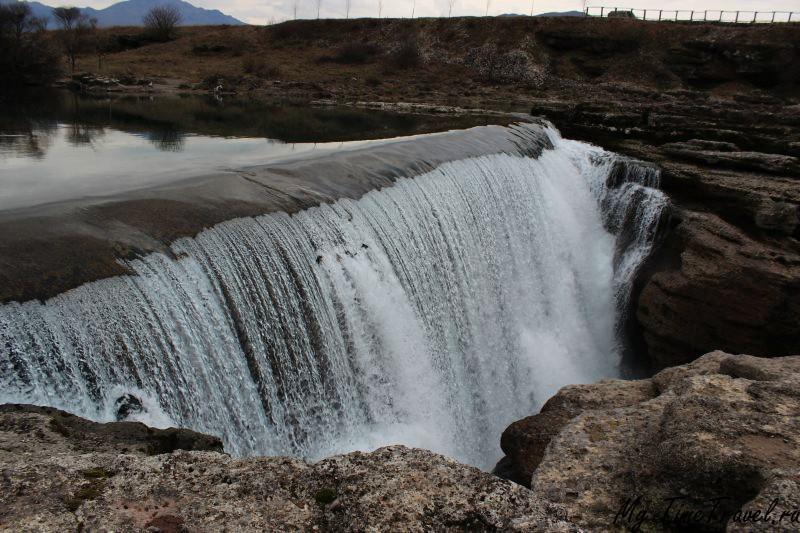 Водопад Неагара в Черногории