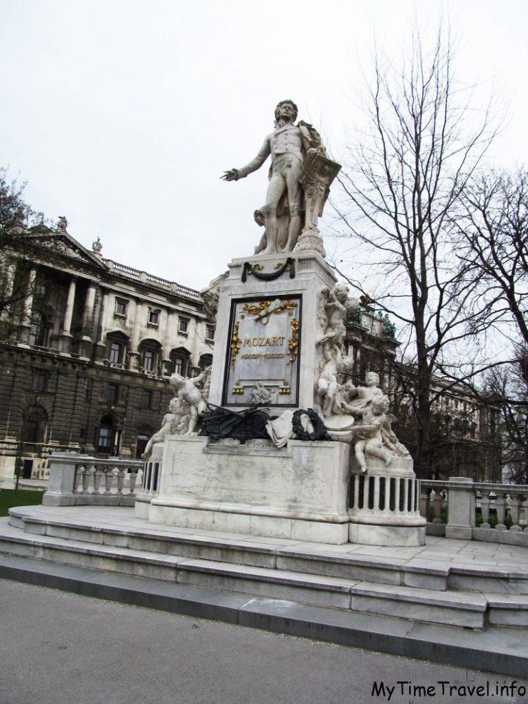 Памятник Моцарту в Вене