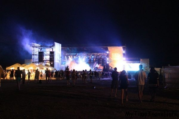 Большая сцена на Sea Dance Festival 2015