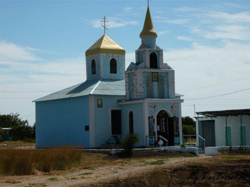 Церковь по дороге к маяку