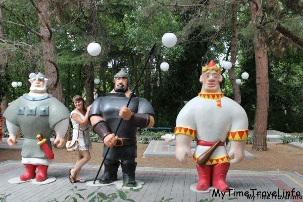 Скульптура Три богатыря