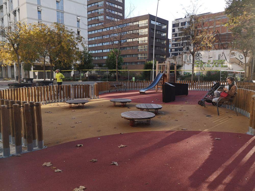 Детские площадки в Барселоне