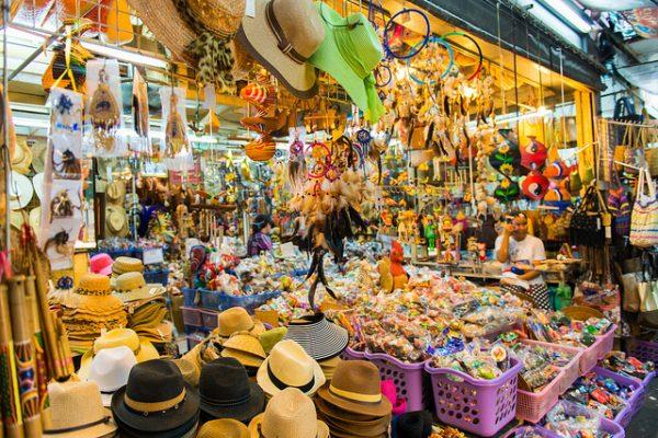 Рынок выходного дня в Бангкоке
