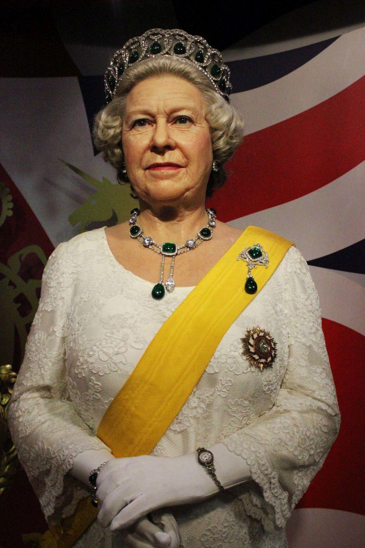Королева Елизавета в Музее восковых фигур